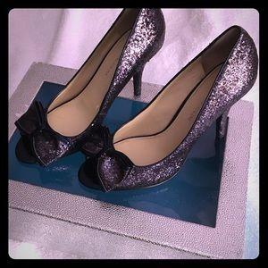 Evening blue shoes!!